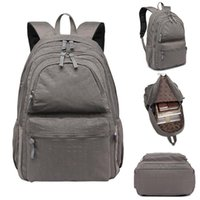 Backpack Unisex Camping Travelling Adjustable Straps Zipper Laptop Sport Casual Nylon Waterproof High Quality