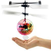 Creative Kid Toy RC Balls Balls Balls Mini Aircraft Unico Sospensione LED Luce Intelligente induzione Volare Ballkid Giocattoli