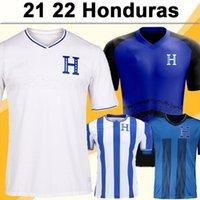 2019 21 22 Honduras Team National Hommes Soccer Jerseys Carlos Rodriguez Lozano Quioto Garcia Home Blanc Chemise de football blanc 2022 Préliminaires du monde