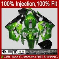 OEM Injection mold Bodywork For KAWASAKI NINJA ZX1200 C ZX1200C ZX 12 R 1200 CC 2000 2001 Body 2No.96 ZX 1200 12R 1200CC ZX-12R 00-01 ZX12R 00 01 Fairing Kit glossy green