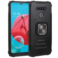 Wholesale Price Heavy duty Armor Holster Phone Cases 2 in 1 Back Cover For LG K51 stylo7 4G