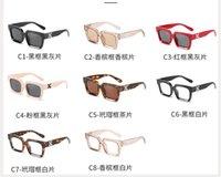 Summe kvinnor godis färg solglasögon mode modeller mens clear lins röd sol glasögon körning glas ridning kvadrat lucency shiney black goggle