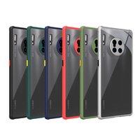 Arylic Silikon Telefon Kılıfı Huawei Mate için 30 Lite P30 Pro Onur X10 20 30 S 30 NOVA 5T 7 Pro 9X Yumuşak Kapak