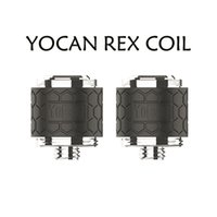 Yocan Rex Enail Replacement Coil Head QTC Quartz Triple Coils Pancake Atomizer Core for Wax Concentrat Dab Vape Device Kit