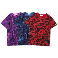 Мужские футболки летнее высокое качество камуфляж камуфляж повседневная подросток мода печати тройники мужские топы классические с коротким рукавом