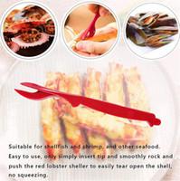 Speisen Meeresfrüchte Cracker Hummer Plektren Werkzeuge Krabbengabel, Crawfish, Garnelen, Garnelen - Easy opener shellfish SHELLER MESSER