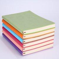 Alta Qualidade A5 Simples Classic Sólida Jornal Notebooks Diários Memo Sketchbook Home Escolar Escritório Bloco de Notas Presentes Wll251