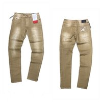 Arrivo Mens Designer Blue Jeans Branelli Branelli Patch Style Hole Jeans Fashion Jeans Slim-gamba Moto Motociclista Causal Hip Hop Top Quality US Dimensione 29-40