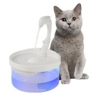 Mascota perro gato agua fuente perro bebiendo cuenco mascota usb automático dispensador de agua súper tranquilo alimentador automático con luz led
