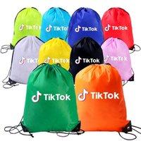 10 ColorsTrendy CoullString Bag Coulisstring Sacchetto per il tempo libero Borsa sportiva Borsa per eventi Backpack Bao641 Zaino per ragazzi e ragazze