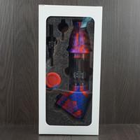 Cookahs Силиконовый Нектар Коллекцион Комплект портативной курительной трубы с кварцевым ногтями для хранения ногтей Металлические табло Добубер