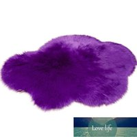 High Quality Cloud Shaped Seating Cushion Solid Color Fluffy Soft Washable Carpet Floor Rug Warm Pad Bedroom Carpets