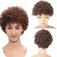 13x4 Lace Front Wigs 27 Color Short Malaysian Remy Human Hair Kinky Curly Pixie Cut Wig Pre Plucked 130%