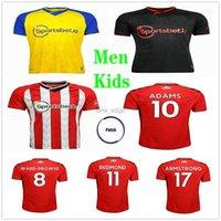 2021 2022 Southampton Soccer Jerseys Ward-ProWse طويل الأجنستية armstrong armstrong adams روميو ريدموند diallo مخصص 21 22 المنزل الرجال الاطفال كيت كرة القدم قميص موحدة