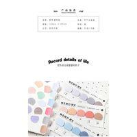 Niedliche Aufkleber Lesezeichen Memo Pad Sticky Briefpapier Haftnotizen Seite Flags Self-Stick Tab Bookmark Marker Pad Office Qylhir