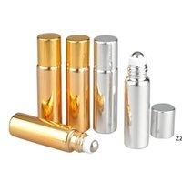 Rulo Topu Uçucu Yağ Şişeleri UV Seyahat Boş Mini 5 ml / 10 ml Ayrı Parfüm Şişeleri Cam Parfüm Şişeleri HWE10625