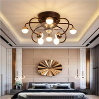 Ceiling Fans Nordic Minimalist Creative Fan Lights Invisible Bedroom Dining Room Household Living With