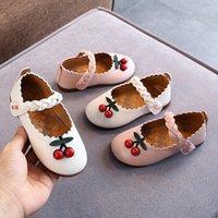 Baby Girls Soft Sole Sole Shoes Automne Enfants Anti-Slip Sandales Sandales Décontractées Chaussures Enfants Passer à pied W1