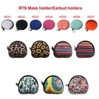 Neopren Maske Çanta Kulaklık Çantası Saklama Çantası Açık Seyahat Cep Telefonu Şarj Kablosu Kulaklık Saklama Çantası XD24585