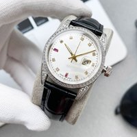 Women Watch Automatic Mechanical Watches 32mm Ladiy Wristwatches 316L Stainless Steel Case Blue Crystal Glass Montre de Luxe High Quality