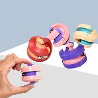 Rotando Magic Bean Intelligence Fingging Fidget Toy Bean Intelligence Fingging Fidget Juguete Alivio Alivio Hamburguesa Juguete Venta al por mayor GWF8307