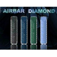 Air Bar Diamante Diamante Vape E Cigarette Pen Pot POD Built-in 380mAh Bateria Pods 500 Buffs Dab Starter Kit vs Maskkin High Pro Max