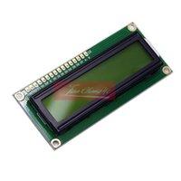 Moduli che vendono LCD1602 HD44780 caratteri Display LCD Giallo Blacklight TFT 16x2 Modulo 5V