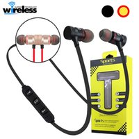 m5 m9 Magnetic Wireless Bluetooth Earphone Stereo Sports Earbuds Wireless in-ear Headset headphone with Mic For Phone Samsung