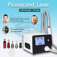 4 Wavelengths 755nm laser treatment tattoo removal pico pigment reduction black doll skin rejuvenation CE approved 2 years warranty