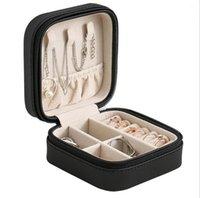 2021 Jewelry Organizer Display Travel Jewelry Case Boxes Portable Jewelry Box Leather Storage Joyeros Organizador De Joyas