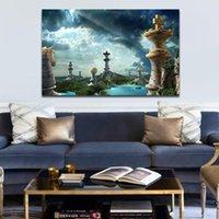 회화 DIY 록키 마운틴 풍경과 숫자로 그림 그리기 릴리프 그림 프레임 된 집