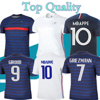 2020 2020 2021 الكبار لكرة القدم جيرسي mbappe grizmann كانتي بوجبا مايوه دي القدم 20 21 الرجال مجموعات كرة القدم مجموعة قمصان كرة القدم موحدة