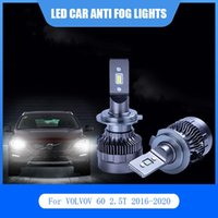 Car Headlights 2Pcs For VOLVOV 60 2.5T 2021-2021 LED Lights Anti Fog Lamp D2H H11 6000K Light Headlight Bulbs Kit Auto White Bulb
