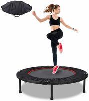 "40 ""Mini Trampoline Rebunder Безопасность Net Pad Fitness Gym Home Упражнение 330 фунтов"