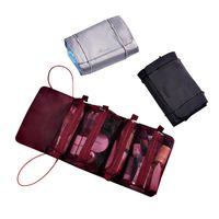Opbergzakken 4-in-1 verwijderbare tas vouwen roll-up make-up organizer afneembare multifunctionele reis wassen Cosmetische draagtas