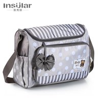 Diaper Bags Cartoon Fashion One-shoulder Messenger Mommy Bag Large-capacity Multi-function For Pregnant Women Outing