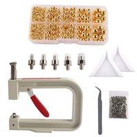 Questões de costura Ferramentas Pérola Ajuste Máquina Rivet Botões Handmade para Chapéus / Sapatos / Roupas / Acessórios DIY