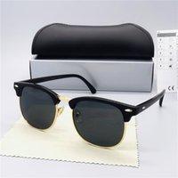 럭셔리 브랜드 선글래스 고전 디자이너 편광 안경 남성 여성 파일럿 선글라스 UV400 안경 수니 금속 프레임 폴라로이드 렌즈