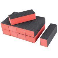 10 adet Nail Art Bakım Tamponu Parlatıcı Zımpara Blok Dosyaları Grit Akrilik Manikür Aracı (Profesyonel Salon Kullanımı) (Ev Kullanımı)