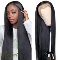 Synthetic Wigs 26inch Long Lace Front Wig Silky Straight Syntheitc For Women Black Color Cosplay Part And Daily Medium Cap Size