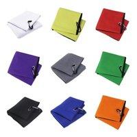 Golf Training Aids Soft Towel Heavy Duty Carabiner Clip Gym Sports Accessories