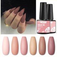 Nail Gel Mtssii 6ml Nails Polish Nude Color Long Lasting Hybrid For Base Top Coat Soak Off UV Led Art Semi Permant Winter