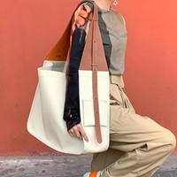 Borse da viaggio vintage in tela e cuoio in pelle per le donne Borsa da donna Grande capacità borsa da donna con cinturino a tracolla da donna