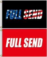 Bandeira Full Enviar, Nelk Boys Fresco Bandeira, 3x5 Pés Banner Poster com Glmmets de Brass, Poliéster Pano 90 * 150cm Home Jardim Wall Flag Decor