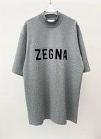 2021 летняя улица Hiphop мода FG Flocking буквы мужские топ футболки US размер высококачественный женский дизайнер с коротким рукавом тройник