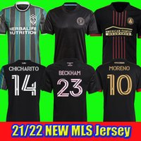 MLS NEUE 21 22 La Galaxy Fussball Jersey Lafc Atlanta United FC Football Hemden 2021 2022 Inter Miami CF Chicharito Pavon Trikots Higuain