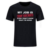 티셔츠 재미있는 내 일은 맨 위 비밀 o 목 티셔츠 남자 맞춤 코튼 대형 유머 슬로건 로트 농담 현재 캐주얼 셔틀 210623