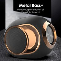X6 Bluetooth 5.0 Lautsprecher Golden Ei Lautsprecher 108 DB Music Tws Tragbare Wireless Lautsprecher für Telefon PC Wasserdichte Outdoor Metal Soundbox
