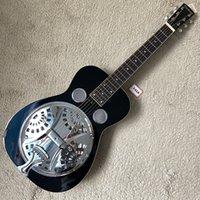 Especificações do produto: Painel de guitarra do Slider de Havaí Material: Cavidade Echo de Ferro + Mogno Painel Parte traseiro Material: Mogno