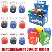 Cookies Runtz Kit USB Elektrische Smasher E Zigarette Toabcco Electronic Mini Wiederaufladbare Mühle Zubehör Rauchen Crusher Vape 50mm H XCCX